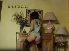 Stunning Alizee dancing for her fans