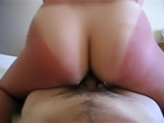 Large sexy a-hole going up and down