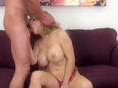 busty milf takes a hot pounding