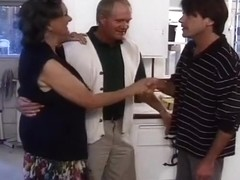 Old Man Offers His Wife To A Young Stud
