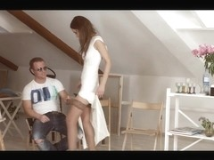Angie Moon & Boris in The Casting - BrutalX