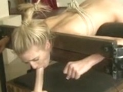 Blonde in ropes 3