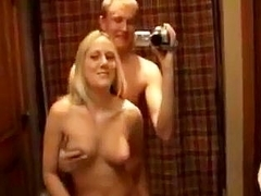 Bathroom Gift from A Shaved Blondie