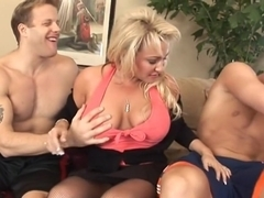 Amazing pornstar Misti Love in crazy big tits, cunnilingus adult clip