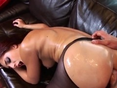 Mischa Brooks has her MILF ass manipulated