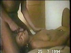Jerking Off All Over My Wife's Face