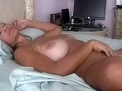 Classic bosomy brunette hair hair mother i'd like to fuck wife and her toys for play
