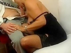 Horny wife gets a hard fuck