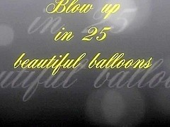 Beautiful Looners - blow up in 25 beautiful balloons