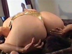 Asian BBW Dominates Small Girl