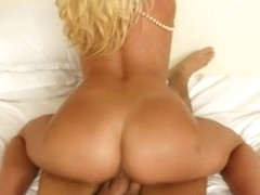 Slamming a hot mature blonde in the face
