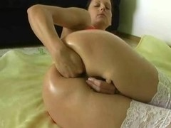amateur ass fisting and toying