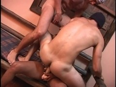 Male+Male+Female Bi Sexual Latino Threesomes