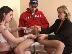 Jerkoff by Older Woman