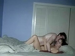 Wife fuck in front of her husband