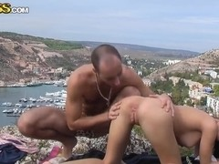 Pounding during summer is what Aurita loves