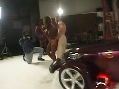 Midori and Dynasty Fuck on A Muscle Car