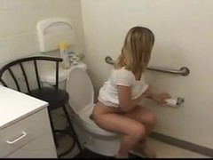 Teen Head #166 Down the Toilet Princess Throat