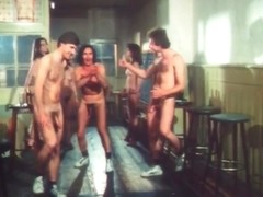Vintage German Naked Bowling Orgy