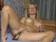 British mother I'd like to fuck floozy Anna fucking in the one and the other holes with toys
