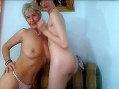 Mature And not her young girl Teasing On livecam