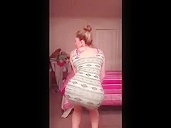Fabulous twerking web camera constricted clothing clip