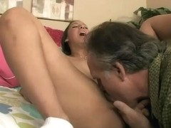 Nadia Noel fucks some lucky old bastard good