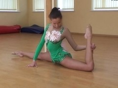 Lata Pavlova - Gymnastic Video part 1