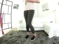 flexi teen naked stretching