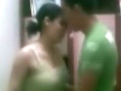Arab guy gets his cock sucked and fucks his gf doggystyle