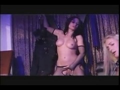 British wench Avalon squirts in a lesbo scene