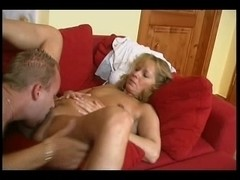 Delightful Sexy Mama With Youthful Chap