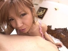 Hot Sumire Matsu Does It All For His Cum