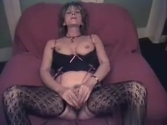 Doxy wife for the camera, sorry no sound
