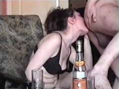 Partying and engulfing a hard boner