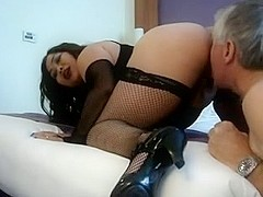 Eating and fucking my hot wife's ass