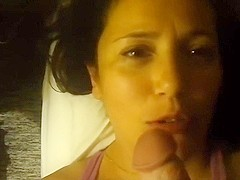 My amateur porn vid features me getting bj from Latina