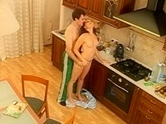 our sex in the kitchen
