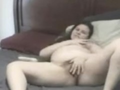 This Fat BBW ex GF likes showing her Wet Hairy Pussy