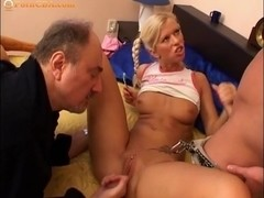 Cockhungry girl casting video