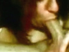 Awesome view on a skillful amateur wench deepthroating her lover