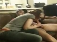 hubby films young wife pleasing their friend