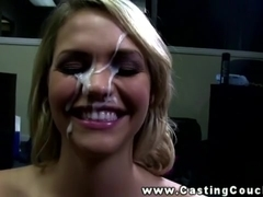Socal blond on the CastingCouch