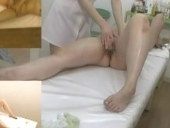 Wet sex massage movie with lesbian with hairy fuck hole