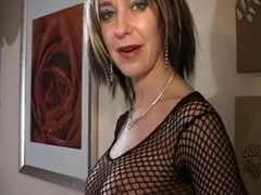 Hott dominatrix-bitch makes him bust three times