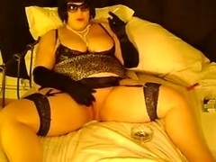 Homemade solo with me smoking and fingering my pussy