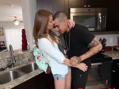 Hard and raw doggystyle sex with a naughty whore teen