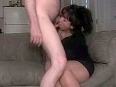 Homemade fucking by couple on film.