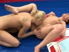 Angel Rivas get a hard pussy licking on cam