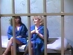 Two Lesbo Grannies Fucking In Jail